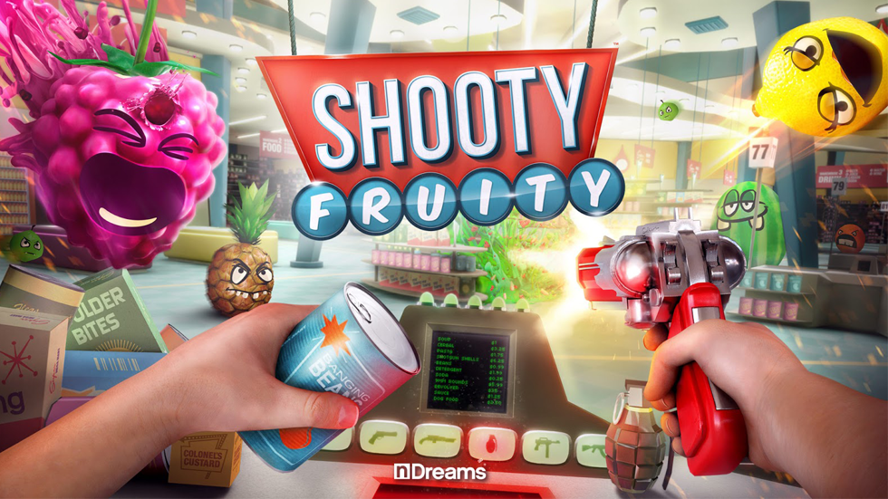 VR Arena game: Shooty Fruity